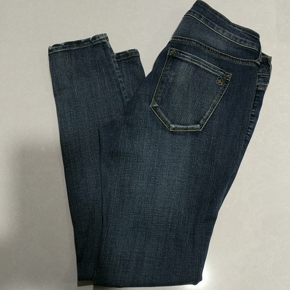 Jessica Simpson Denim - Jessica Simpson Kiss me super skinny blue jeans